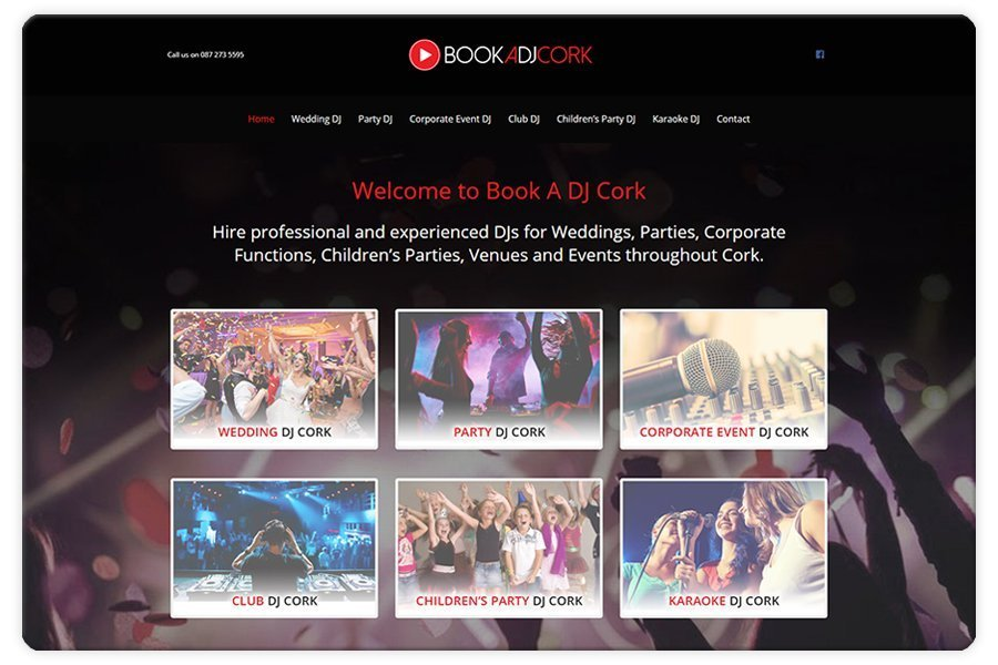 Portfolio - Book A DJ Cork