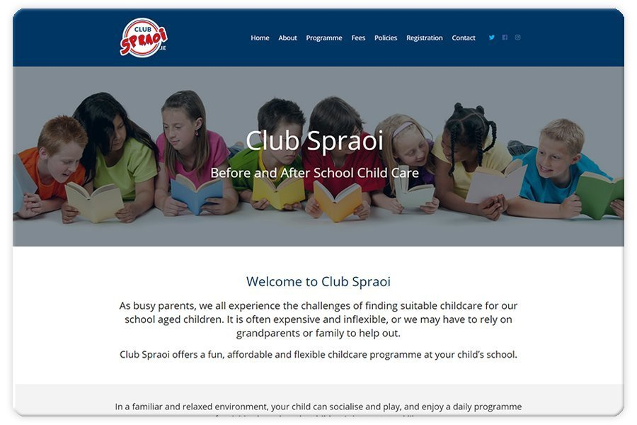 Portfolio - Club Spraoi