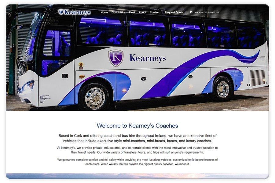 Portfolio - Kearney's Coaches