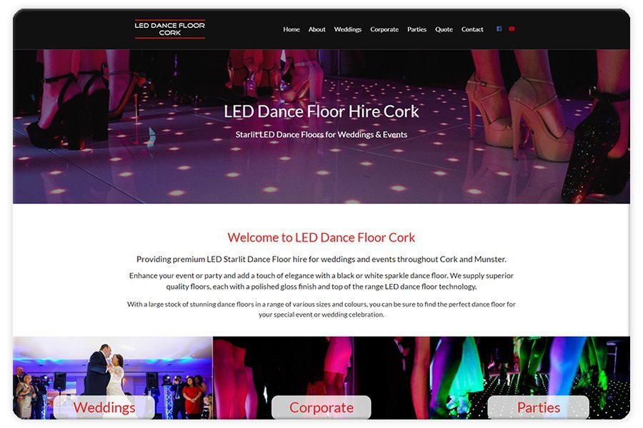 Portfolio - LED Dance Floor Cork