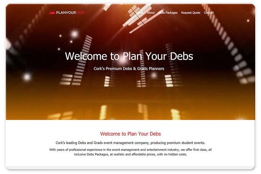 Portfolio - Plan Your Debs