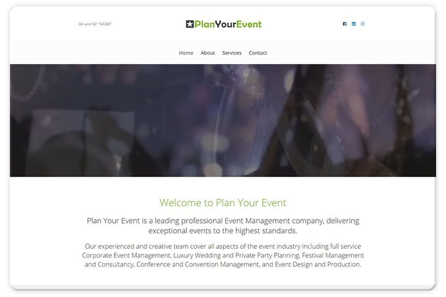 Portfolio - Plan Your Event