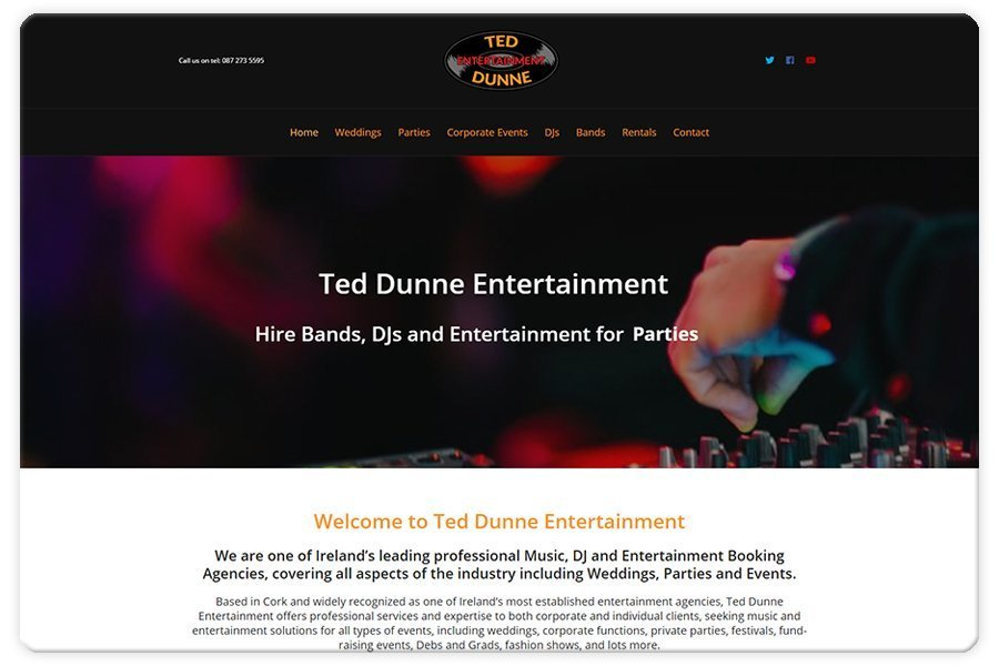 Portfolio - Ted Dunne Entertainment