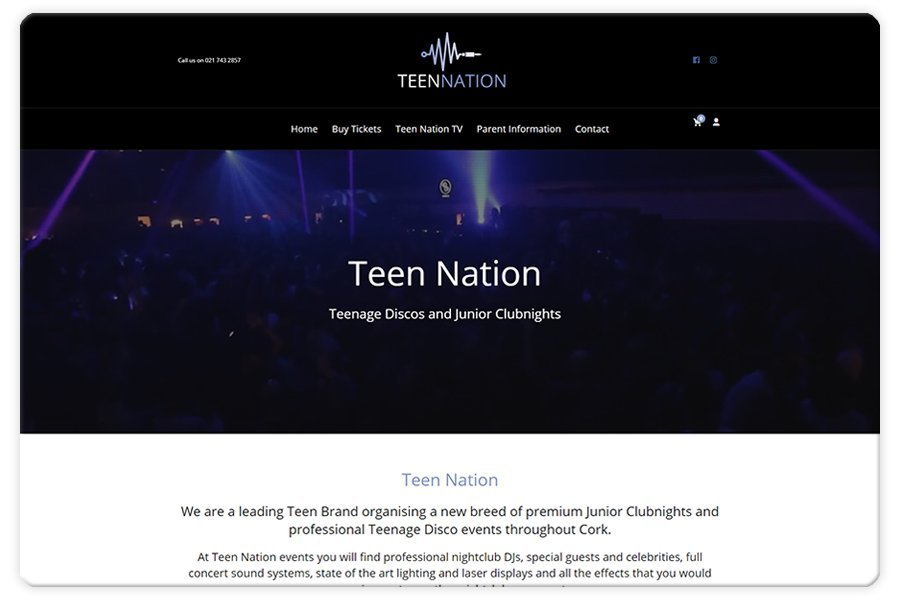 Portfolio - Teen Nation