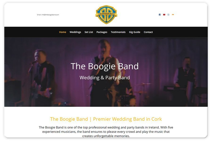 Portfolio - The Boogie Band